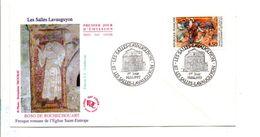 FDC 1997 LES SALLESLAVAUGUYON HAUTE VIENNE - 1990-1999