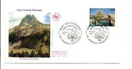 FDC 1997 PARC DES PYRENEES - 1990-1999