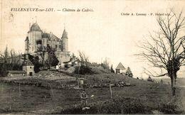 VILLENEUVE SUR LOT CHATEAU DE CADRES - Villeneuve Sur Lot
