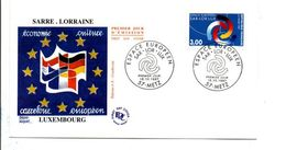 FDC 1997 SAR-LOR-LUX - 1990-1999