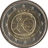 IR20009.1 - IRLANDE - 2 Euros Commémo. 10 Ans De L'UEM - 2009 - Ireland