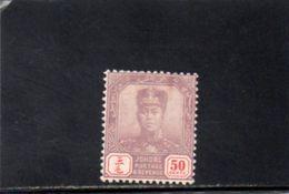 JOHORE 1921-37 * - Johore