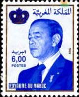 Maroc Poste N* Yv:1251G Mi  Yv:2,5 Euro Hassan II & Couronne Gd Format (sans Gomme) - Maroc (1956-...)