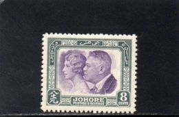 JOHORE 1935 * - Johore