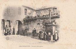 15 CHAUDES AIGUES  La Fontaine Saint Julien - Altri Comuni