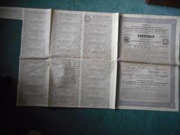 4 OBLIGATIONS 50 Francs 1914 COMPAGNIE CHEMINS DE FER MOSCOU-KAZAN - Chemin De Fer & Tramway