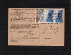 Cachets ST AYGULF Sur Carte De Réexpédition - Sur  YT PA 38  & YT 1355. - 1961-....