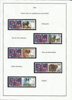 Belgique Année 2002 Complète Et Majorité Oblitérés (voir Descriptif) - Belgique