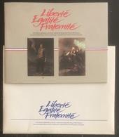 France - Souvenir Commémoratif De La Révolution Française - Liberté Égalité Fraternité - Philex - 1989 - Documents Of Postal Services