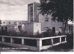 Italia Formato 10x15:Cartolina LATINA : CASA Del CONTADINO.Non Viaggiata. - Viste Panoramiche, Panorama