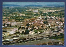 57. Bouzonville. Vue Aérienne. La Gare. 1984 - Frankrijk