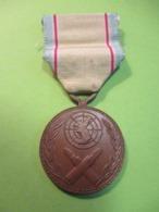 Médaille Commémorative Pour Service De Guerre En Corée/ 2éme Type/Corée Du Sud/1954     MED345bis - France