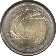 IT20004.1 - ITALIE - 2 Euros Commémo. Programme Alimentaire Mondial - 2004 - Italy