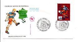 FDC 1998 FOOTBALL 98 - BORDEAUX - 1990-1999