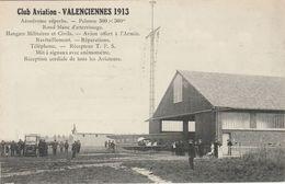 Nord.  Valenciennes 1913. Club Aviation. - Valenciennes
