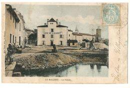 LE MALZIEU  CAFË DE L'EUROPE -LE FOIRAIL EN 1900 - Autres Communes