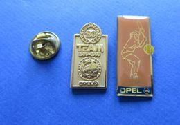 2 Pin's,AUTO, OPEL,TENNIS - Opel