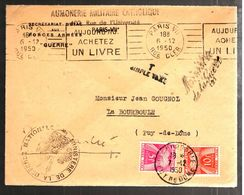 33358 - Du MINISTERE DE LA GUERRE Avec  2 Timbres Taxe - Postmark Collection (Covers)