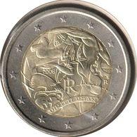 IT20008.1 - ITALIE - 2 Euros Commémo. Droits De L'Homme - 2008 - Italie