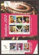 St. Kitts - MNH Set Of 2 Sheets  - SUMMER OLYMPICS LONDON 2012 - Sommer 2012: London