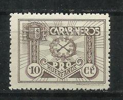 6021-NUEVO MNH**Guerra Civil Guerra Civil PRO HUERFANOS DE CARABINEROS 10 Cts . SPAIN CIVIL WAR.EJERCITO,MILITARIA.DE LU - Emissions Républicaines