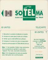 187/ Mali; P9. Green Logo, SC7, CN C46145587 - Malí