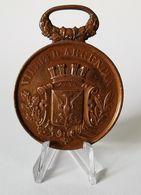 Très Belle Médaille Ville D'Argentan Grand Concours Musical Du 13 Mai 1877 - France