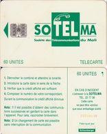 188/ Mali; P9. Green Logo, SC7, CN C53149140 - Malí