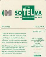 190/ Mali; P9. Green Logo, SC7, CN C53149142 - Malí