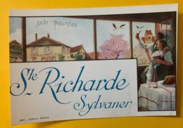 15124 - Alsace Ste Richarde Sylvaner - Etiquettes