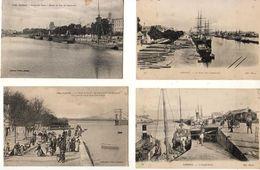 D56  LORIENT LOT DE 20 CPA DE 1918 - Lorient