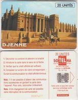 198/ Mali; P13. Djenne 20, 3rd Issue, 45.000 Ex - Malí