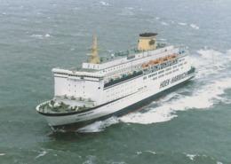 Ms Koningin Beatrix , Stoomvaart Maatschappij Zeeland, Hoek Van Holland - Harwich - Fähren