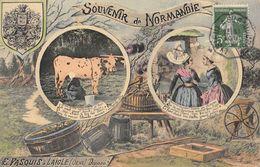 CPA 61 L AIGLE E.PASQUIS SOUVENIR DE NORMANDIE - L'Aigle