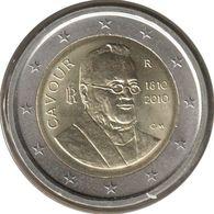 IT20010.1 - ITALIE - 2 Euros Commémo. Comte De Cavour - 2010 - Italie