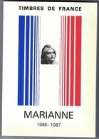 Catalogue - MARIANNE - Timbres-poste De France - 1986-1987 - Bel Ouvrage Pour Philatéliste - France