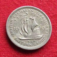 British Caribbean Territories 10 Cents 1964 KM# 5 *V1 Caraibas Caraibes Orientales Eastern - Ostkaribischer Staaten