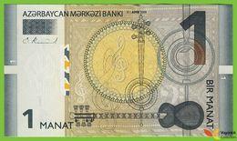 Voyo AZERBAIJAN 1 Manat 2009(2010) P31a B401a D UNC Music Robert Kalina - Azerbaïdjan