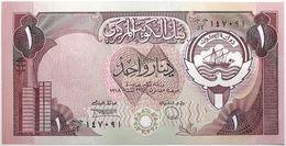 Koweit - 1 Dinar - 1980 - PICK 13d - NEUF - Koeweit