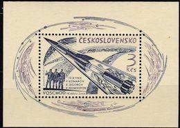 """CSSR, 1964, 1560 Block 22, Start Der Sowjetischen Raumkapsel """"Woschod I"""".  MNH ** - Blocs-feuillets"""