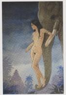 JEAN FRANCOIS CHARLES , Cp : Dessin érotique 1° Prix Ramonbulles 2014 , Carte Numérotée Tirage 1000 Exemplaires - Cartoline Postali