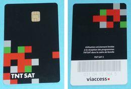 Rare Carte à Puce, TNT SAT 5, Télécarte De Téléphone, Viaccess - Telefonkarten