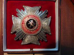 Belgique - Ordre De Léopold,Grand-Officier Bilingue,poinçon Argent - Unclassified