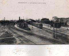 Ambérieu -   L' Intérieur  De  La  Gare - France