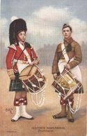 """""""Seaforth Highlanders. Drummers"""" Tuck Oilette PC # 9356 - Tuck, Raphael"""