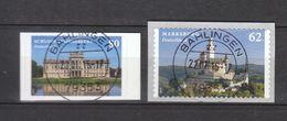 Deutschland BRD  Gestempelt   3127-3128 Burgen Und Schlösser Skl - Oblitérés