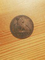 MONNAIE COIN BELGIQUE BELGIE BELGIUM 2 CENTIME 1864 LEOPOLD ROI DES BELGES - 1831-1865: Leopold I