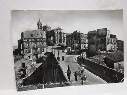CALTAGIRONE    -- CATANIA  ---  CHIESA S. FRANCESCO D'ASSISI VISTA DAL PONTE - Catania