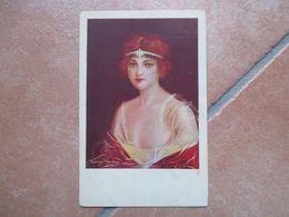 DONNINE Woman 1925 Illustratore T.MANNING Edizione T.A.M.Censura 3356 - Altri