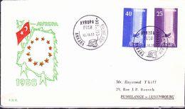 Türkei Turkey Turquie - Europa (MiNr: 1610/1) 1958 - FDC - Europa-CEPT